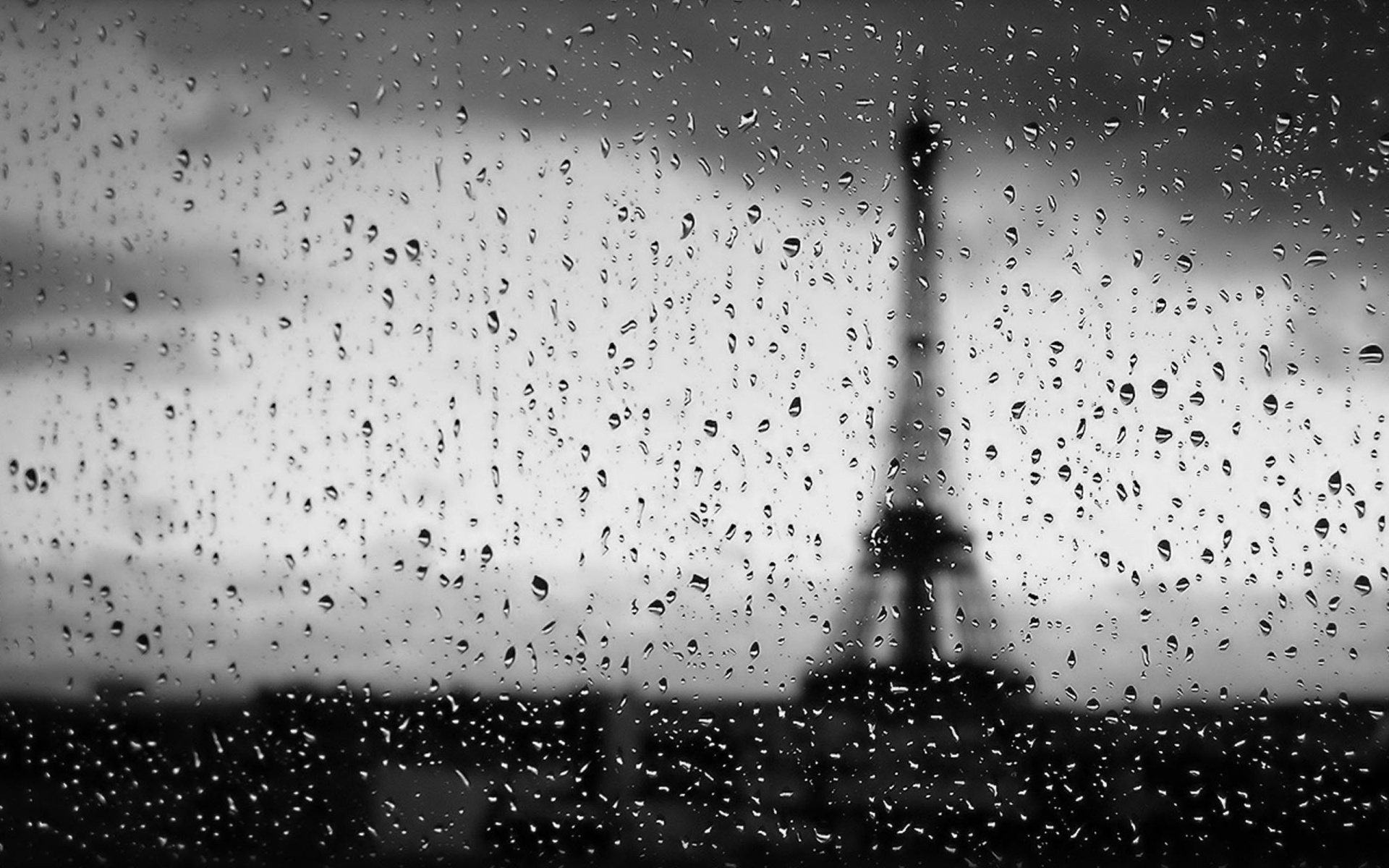 Estrange Reality A Rainy Day In Paris